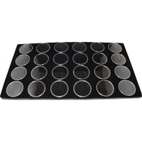 Gem Pods Black - 45mm - Set of 24