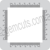 Metal Clay Design Frame 100mm x 100mm