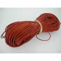 Greek Leather Cord - Round - Light Tan - 1.5mm (Per Metre)