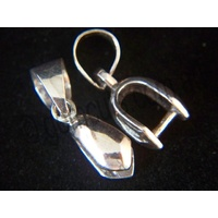 Pendant Pinch Clasp with Bail - Large