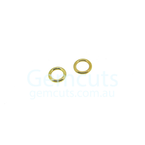 Gold Colour Jump Ring ID 2.8mm