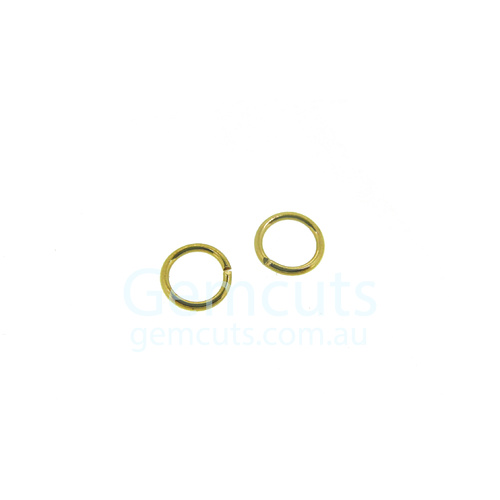 Gold Colour Jump Ring ID 3.8mm