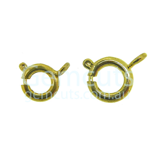 Bolt Ring Clasp – Gold Colour