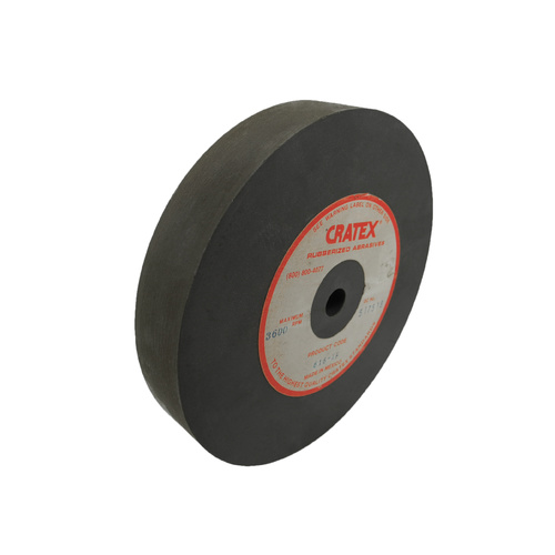 Cratex Large Wheel 150mm x 25mm x 12.5mm (6 x 1 x 0.5 Inch)  Coarse