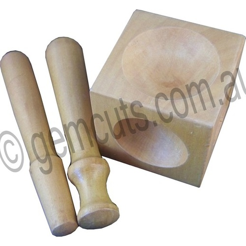 Doming Punch Set of 2 with Wooden Doming Block