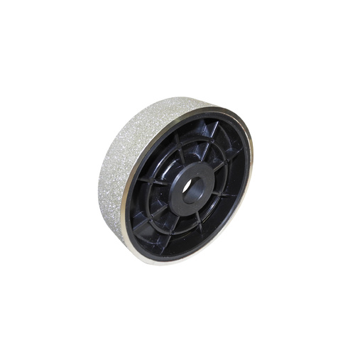 "Diamond Plated Lapidary Wheel 150mm x 50mm (6"" x 2"") [Grit Size: 80]"