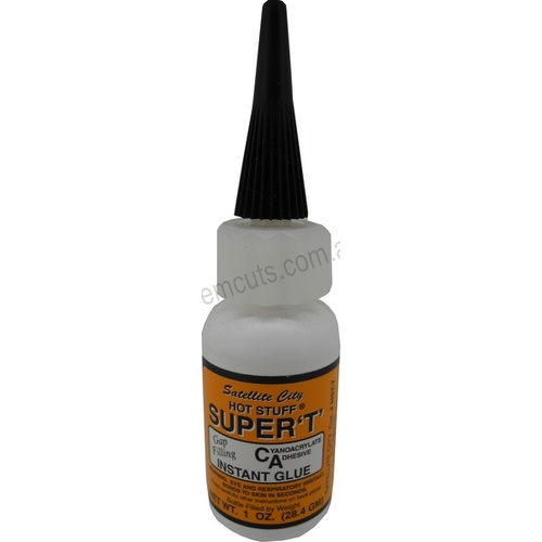 Hot Stuff Glue - Super T - 1oz