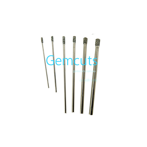 Solid Diamond Plated Drill 0.75mm