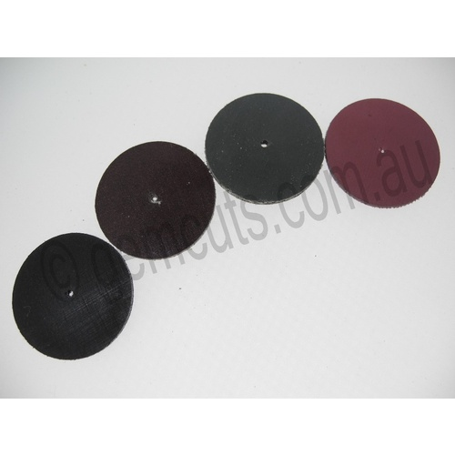 Mini Nova Sanding Disks 1 Inch- Set of 4