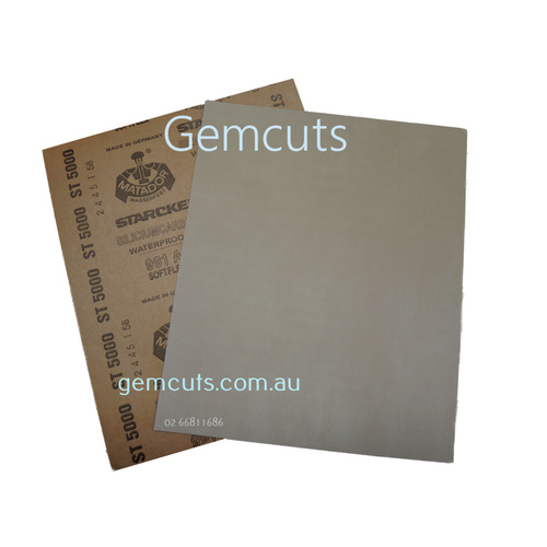 320 Grit Matador Silicon Carbide Sheet - 230mm x 280mm